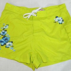 Molson Canadian I AM Canadian Neon Green Shorts